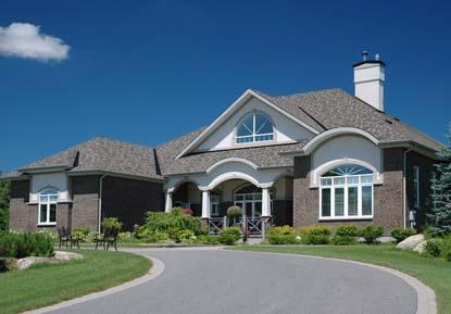 suburban mansion